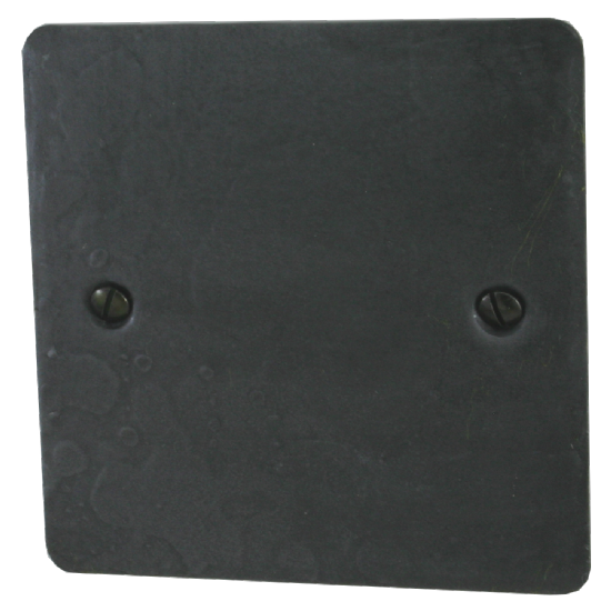 G&H Flat Plate Rustic Pewter